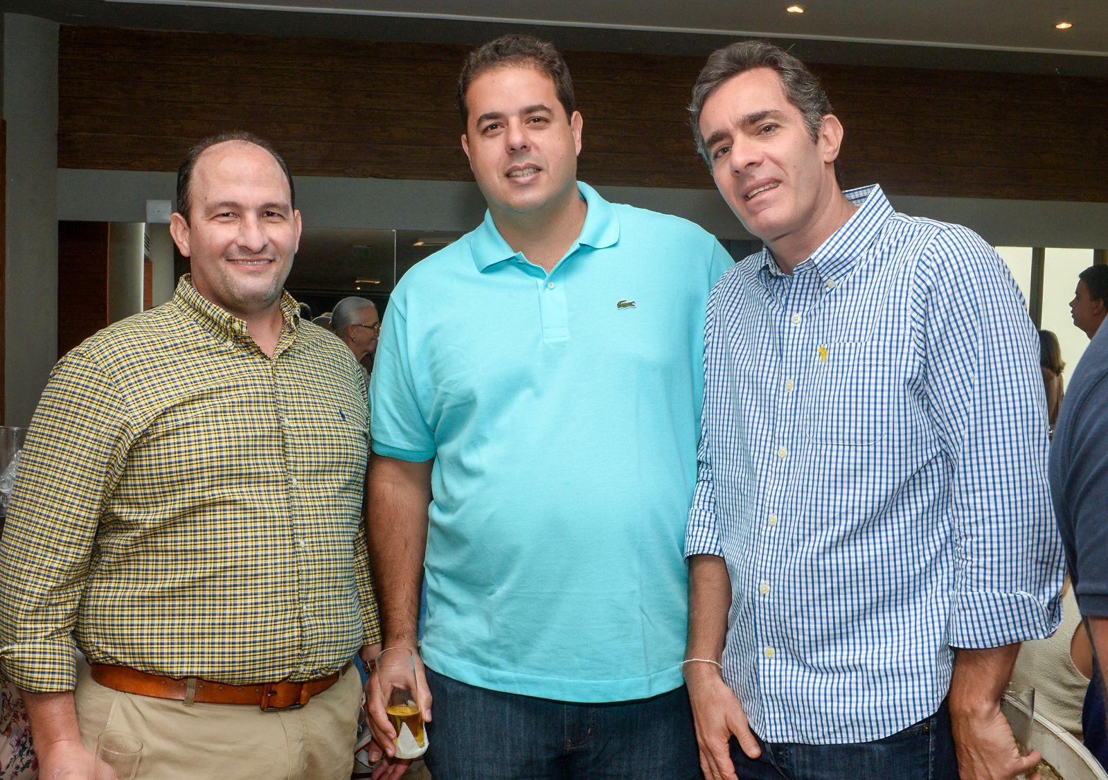 Fred Barreto de Araújo, Ricardo Castro Lima e Maurício Stern very important people em destaque do dia 20 de agosto
