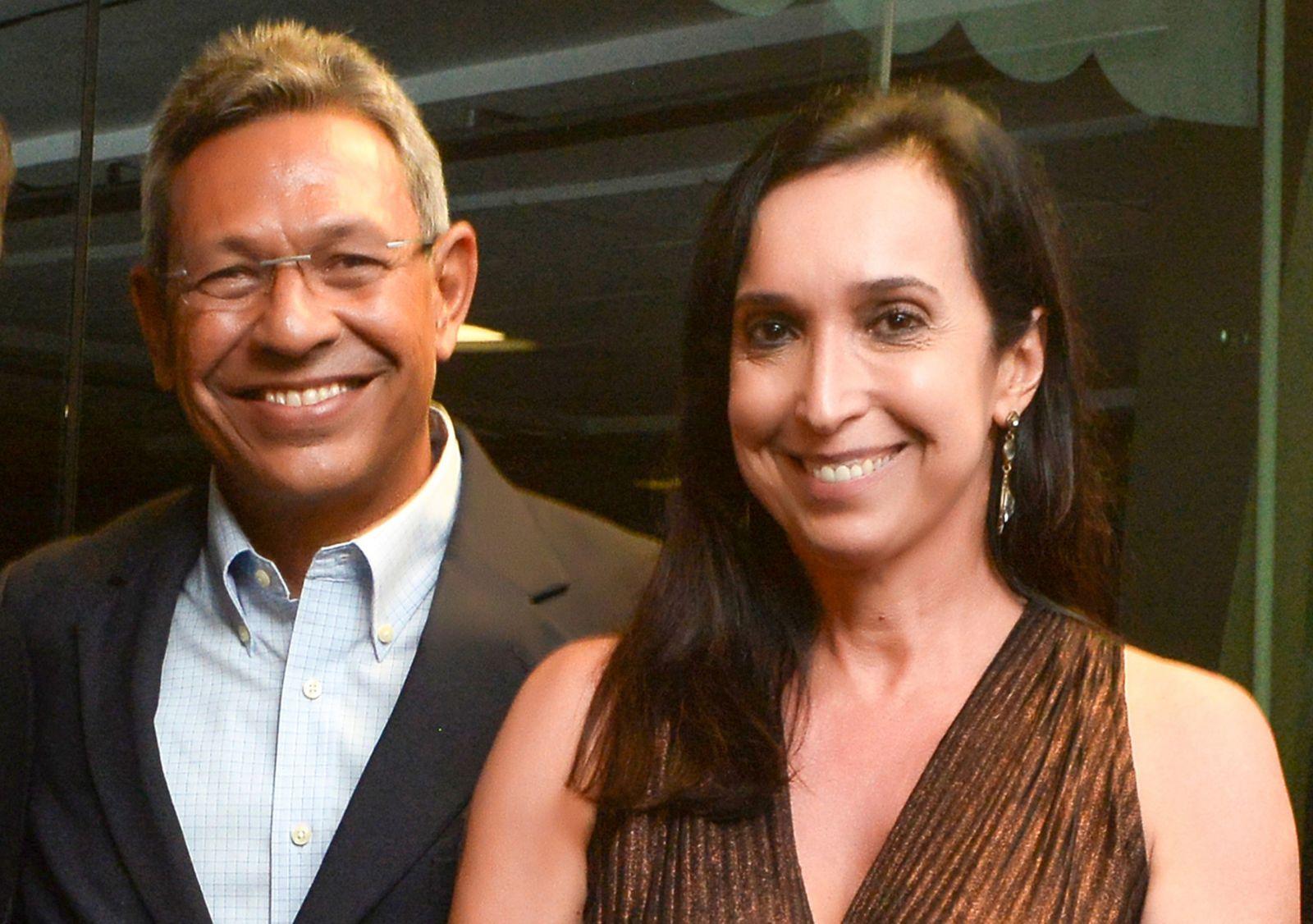 General Racine do Exército brasileiro e sua esposa Cristina Lima, o casal destaque de hoje dia 22/05/2019