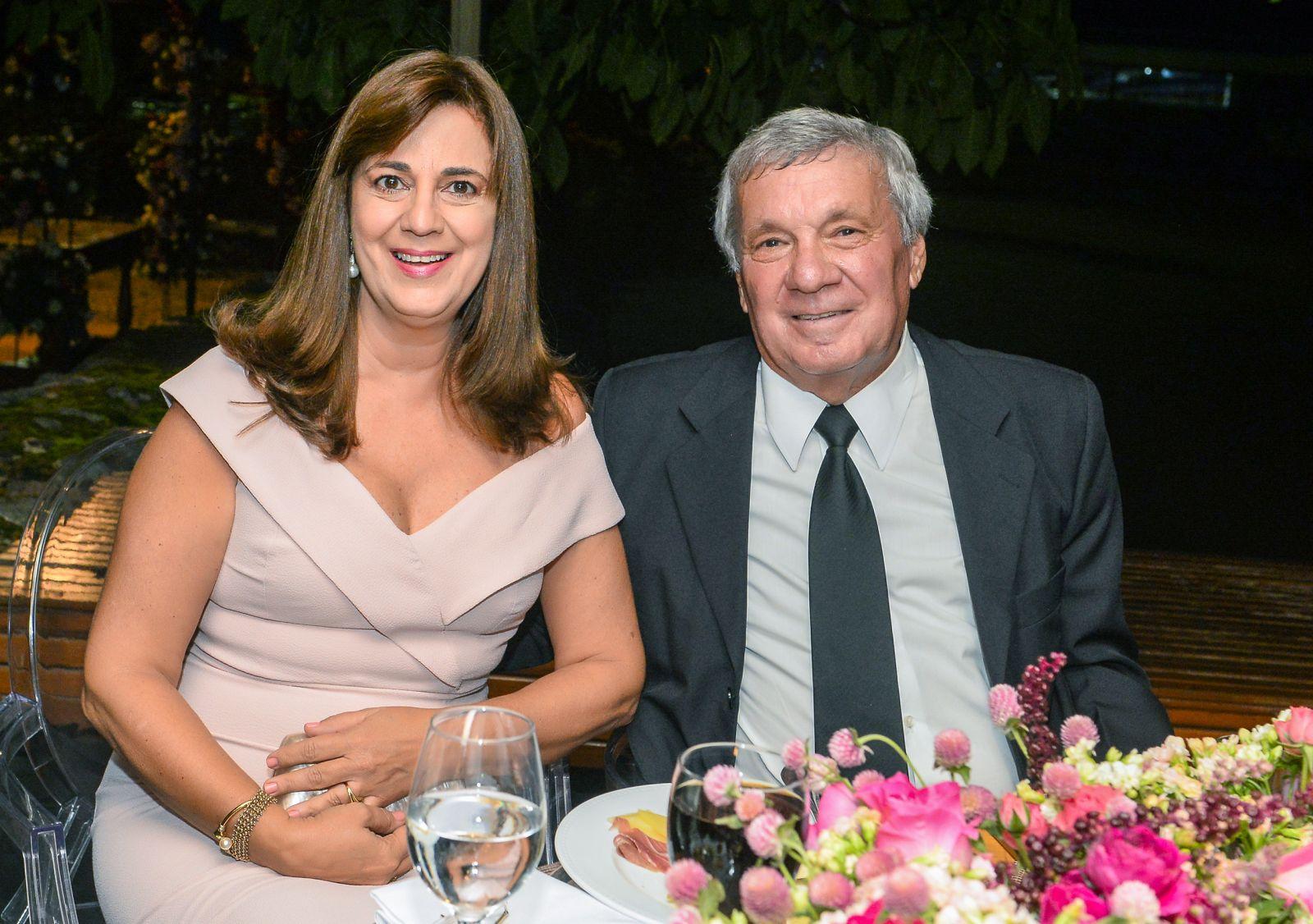 Marta e Jorge Muller, foram destaque nos 84 anos do Yacht Clube da Bahia