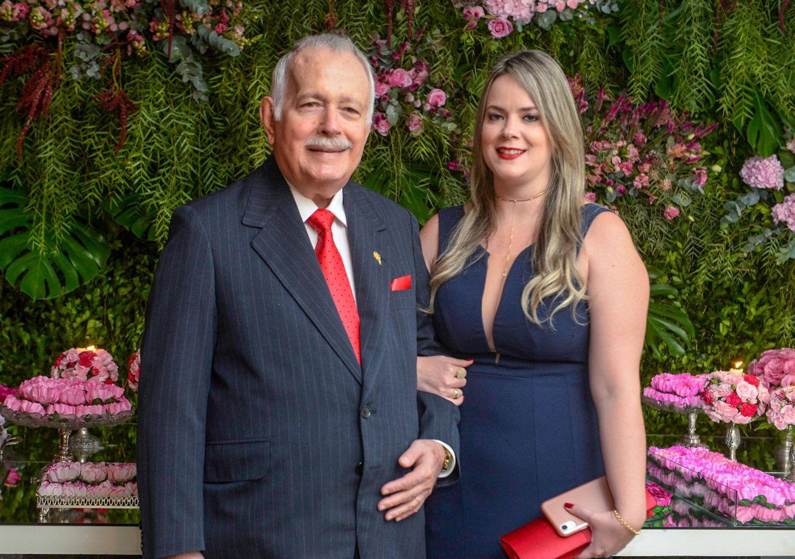 Maria Eduarda e Eduardo Magalhães(Irmão de ACM), foram destaque nos 84 anos do Yacht Clube da Bahia