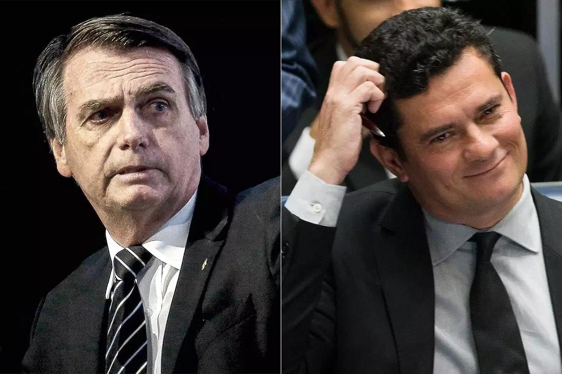 Moro contraria Bolsonaro sobre indicação ao STF.Ver mais...