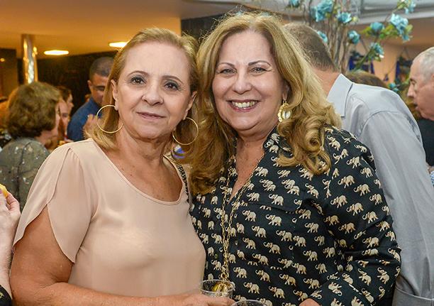 Marly Andrade e Rita Magalhães em destaque do dia