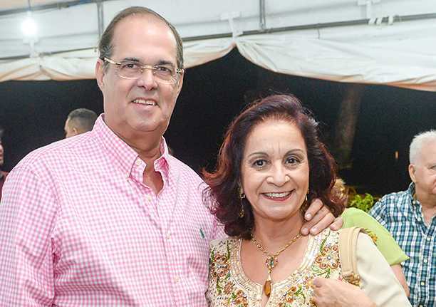 Moema Ribeiro e Paulo Ribeiro é o casal destaque e hoje