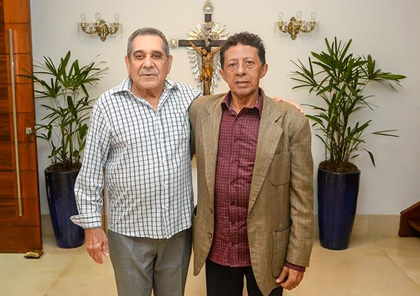 Aíron Perez Uanús é o empresário destaque de hoje, na foto Aírton está ao lado do editor deste site