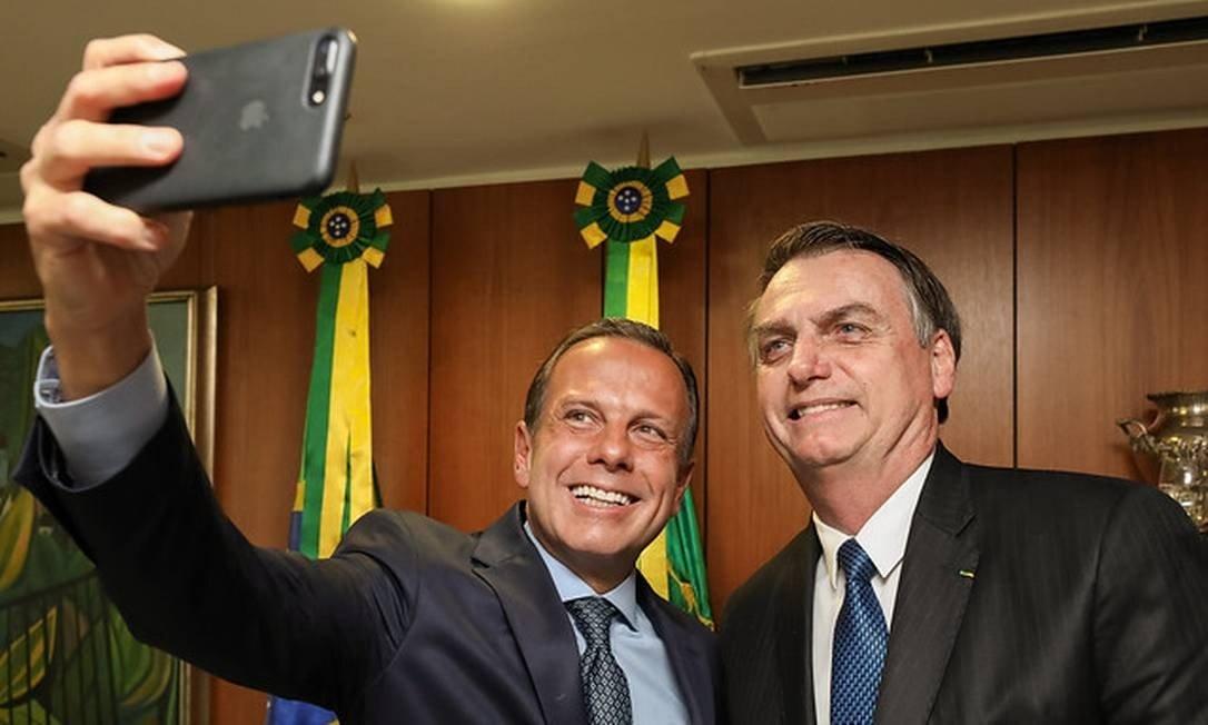 'Doria está morto' para 2022, diz Bolsonaro
