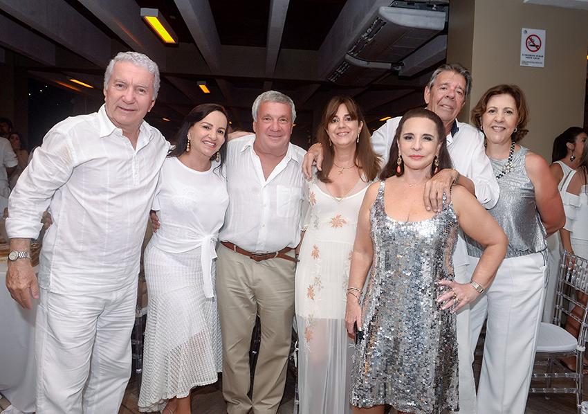 Esse grupo de socialites vão está amanhã na feijoada Yemanjá do Yacht Clube da Bahia