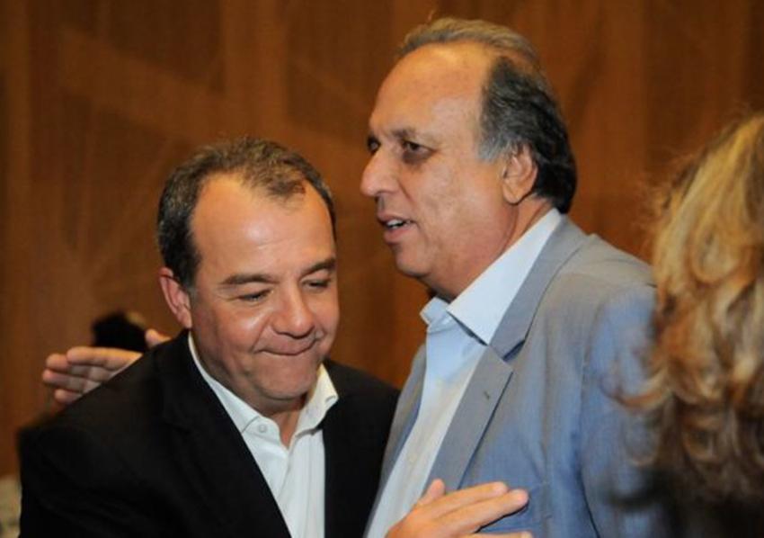 Cabral e Pezão viram réus em caso sobre obras do metrô