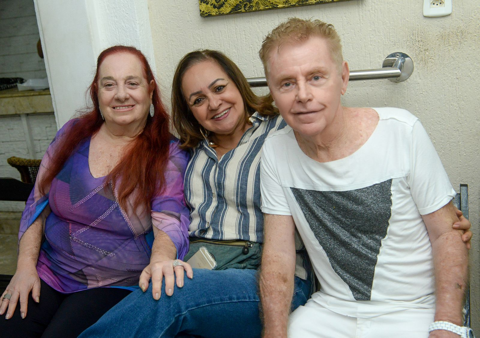 Veruska lançou sua nova coleção ontem na Rua Maques de Leão 647- Barra