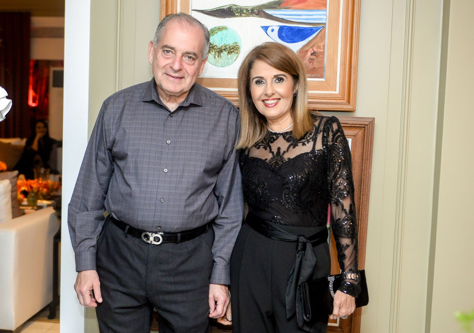 Maria do Rosário e Antonio Carlos Magalhães Júnior o casal destaque no aniversario de Tina Lima