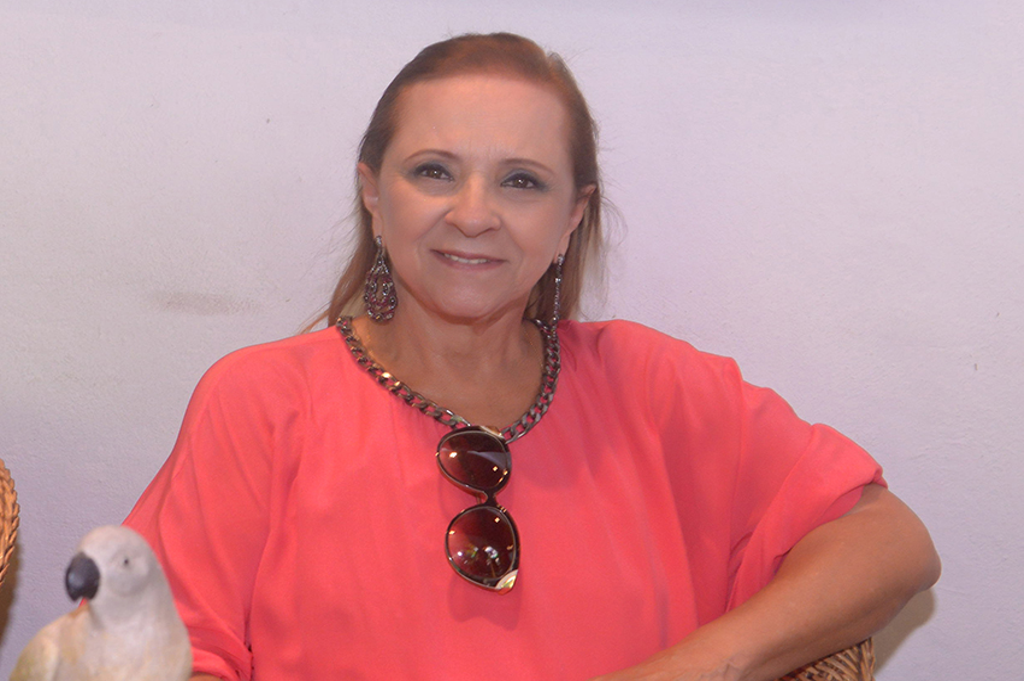 Marly Andrade foi um grande destaque na festa de Rafael Freitas.