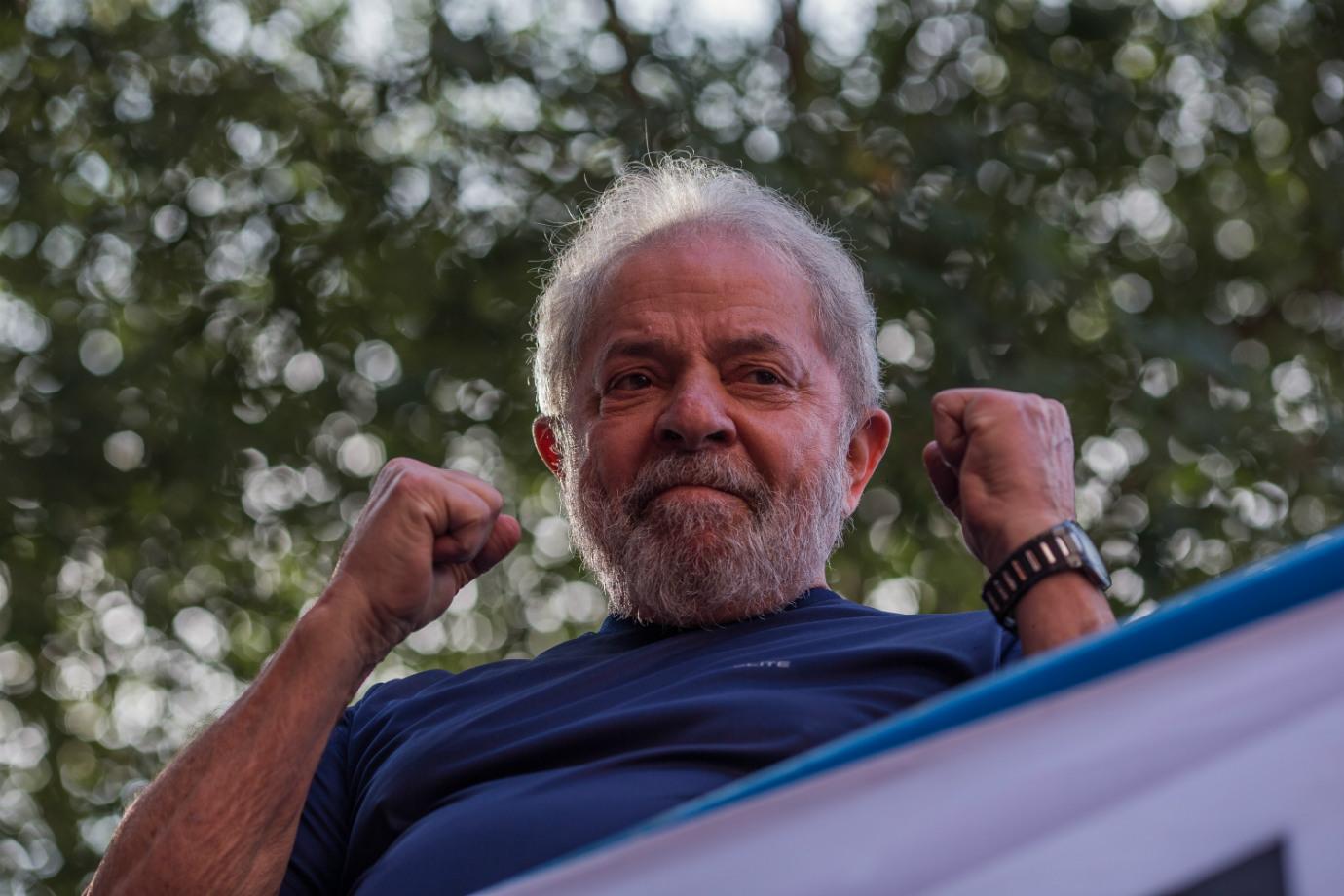 Lula já está solto por ordem do STF(Lula livre já é realidade)