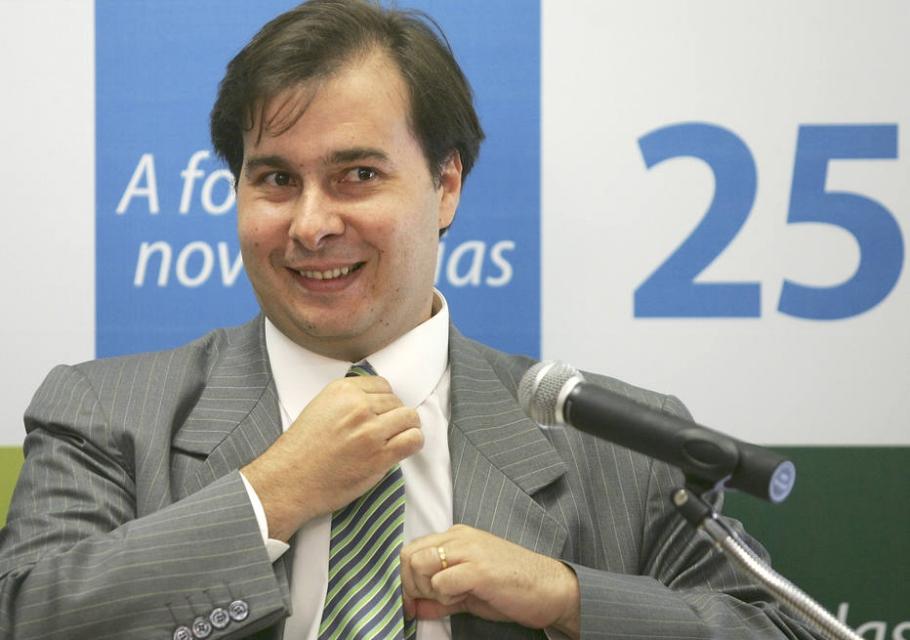 Rodrigo Maia admite ser um dos nomes do DEM na corrida à Presidência