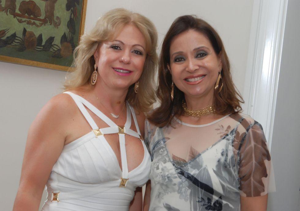 Helena Degasperi e Cristiana Mendonça Mathias as duas aniversariante de hoje dia 19 de março
