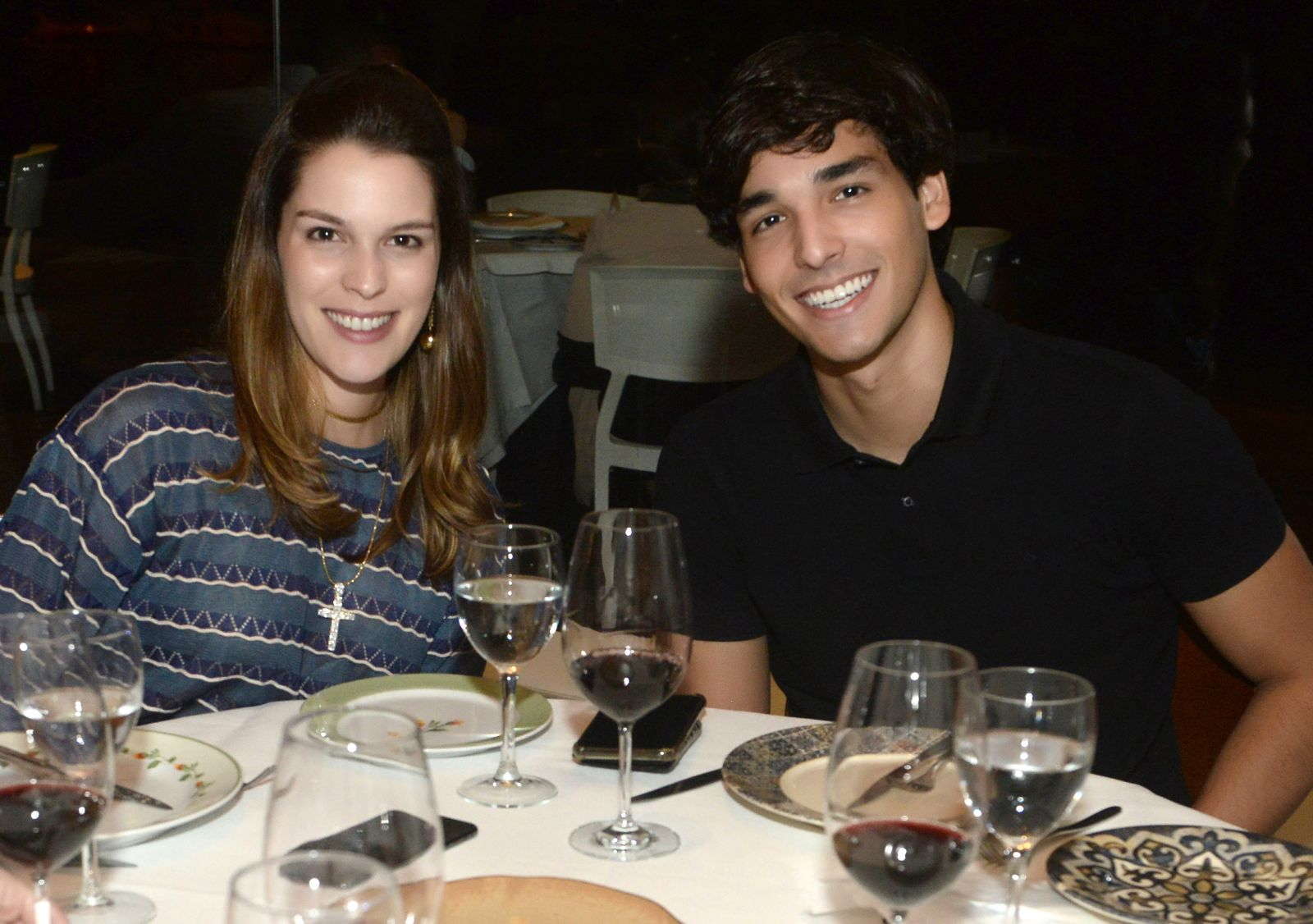 Stephanie Mattos and Caio Matos special brother having dinner in Amado