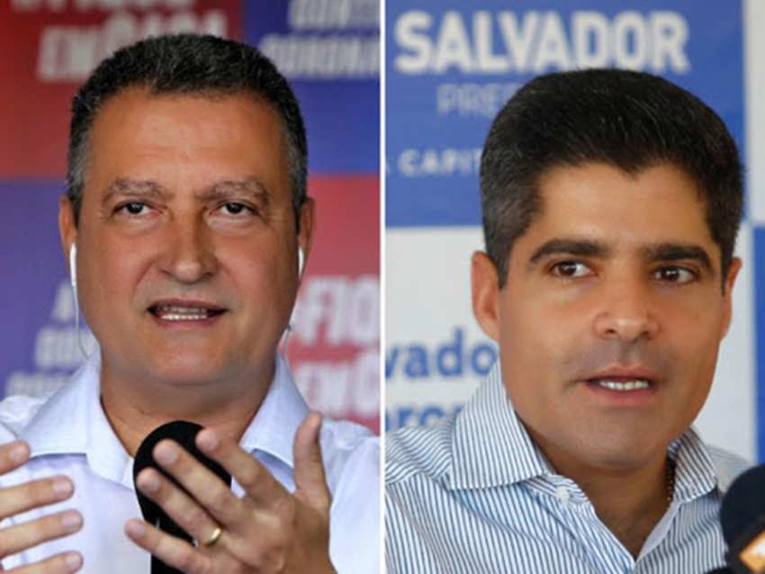 ACM Neto e Rui Costa não se uniram, mas se ajuntaram, para dar vitória a Bruno Reis nas eleições municipais de Salvador