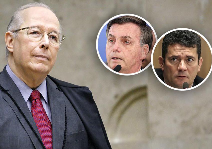Bolsonaro é aconselhado a não reagir contra o que o ministro Celso de Melo quer, mesmo se achando na razão