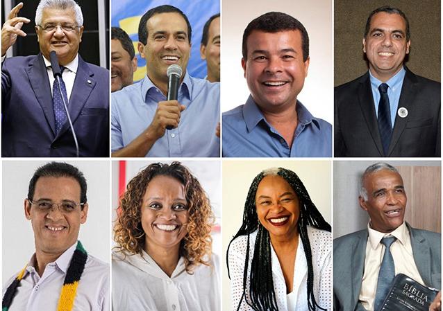 Candidatos a prefeito de Salvador. Clique prá ver quem vai ganhar