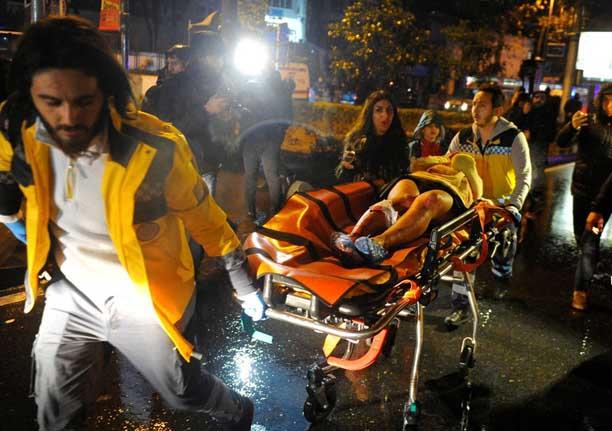 Ataque neste sábado (31) mata 35 pessoas na boate em Istambul na Turquia.