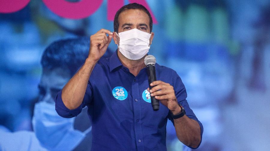 Bruno Reis é eleito prefeito de Salvador com a melhor votação entre as capitais do Brasil, deixando ACM Neto com o sorriso mais largo ainda