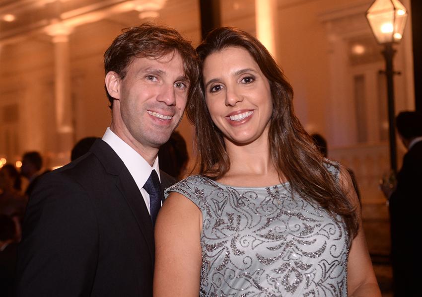 Daniela Luz Cruz e Elmo Cruz foram destaque no casamento de Luma Pitanga e Filipe Pinto