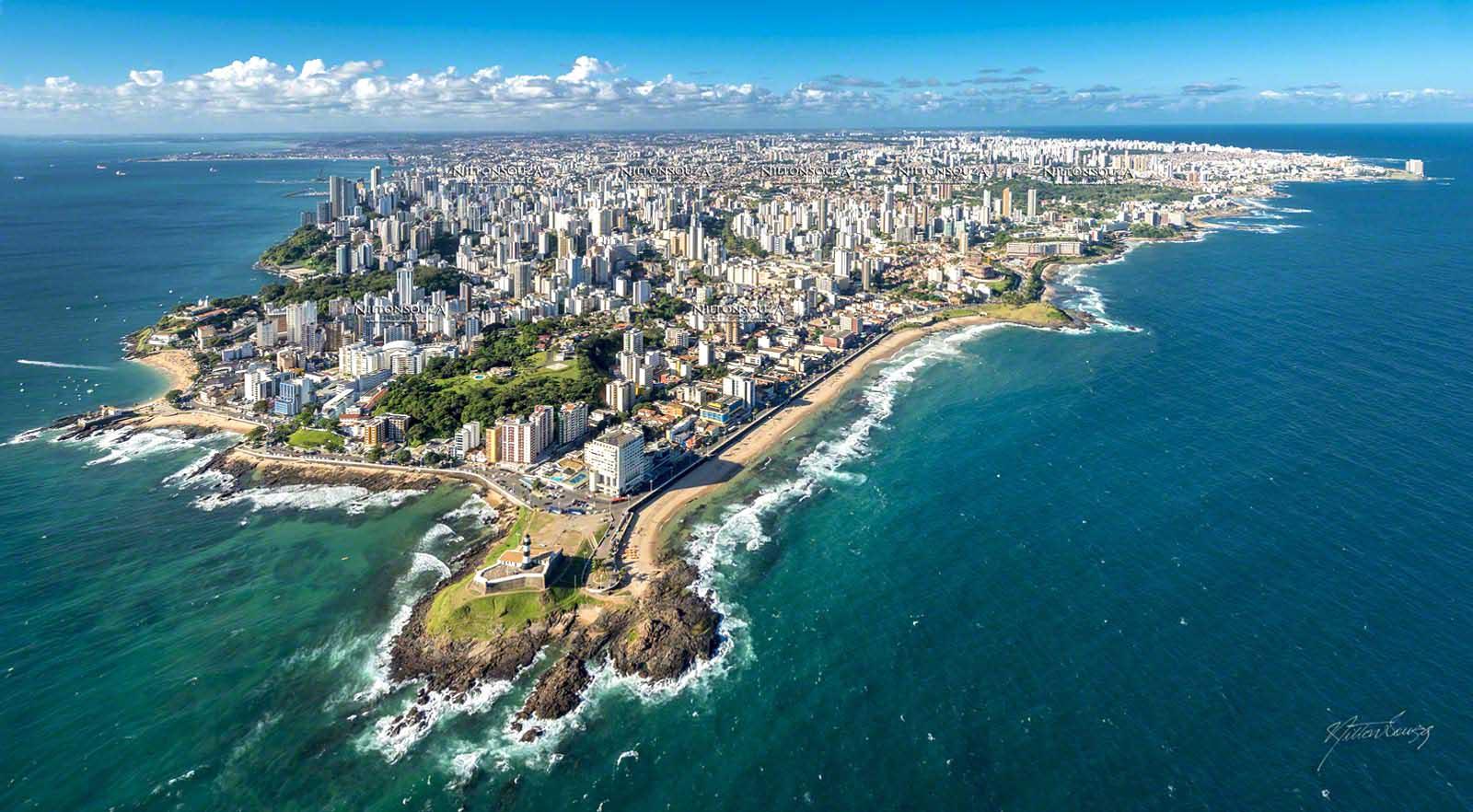 Salvador a primeira capital do Brasil, fazendo 469 anos hoje 29 de março de 2018.Veja mais...