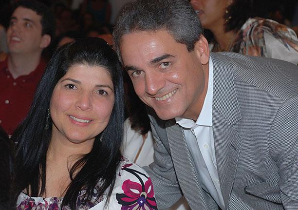 Tereza Valente e Jorge Oliveira é o casal destaque desta quarta-feira 22 de agosto
