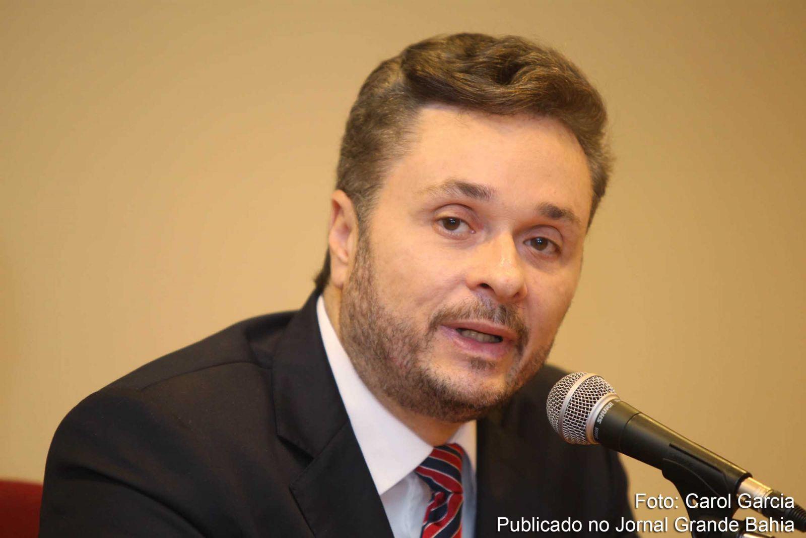 Manoel Vitorino Sec. da Fazenda da Bahia( a Bahia manteve o segundo lugar em volume de investimentos públicos no país em 2017)
