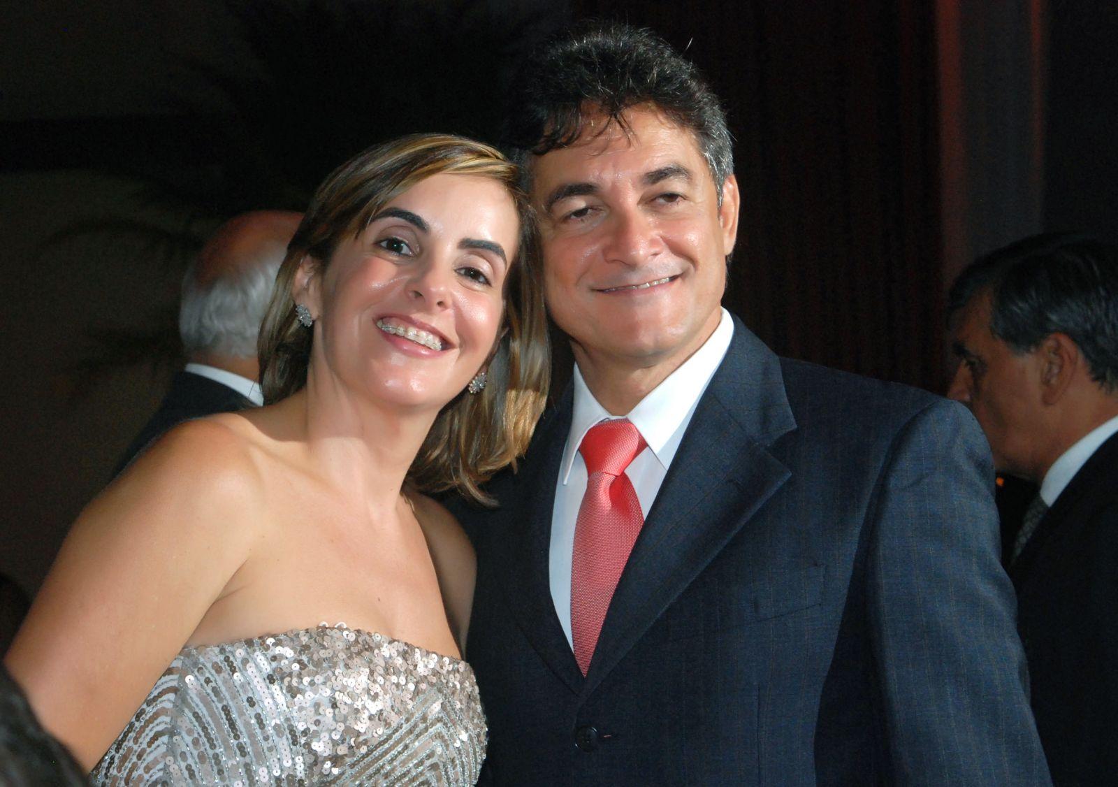 Dra. Clarissa Mathias(Oncologista) e seu esposo Cezar Machado o casal destaque do dia dos namorados