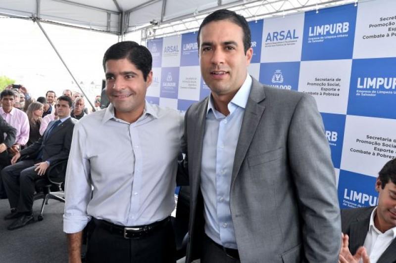 ACM Neto e Bruno Reis um em rumo ao governo da Bahia e o outro em rumo à Prefeitura de Salvador. No problem!