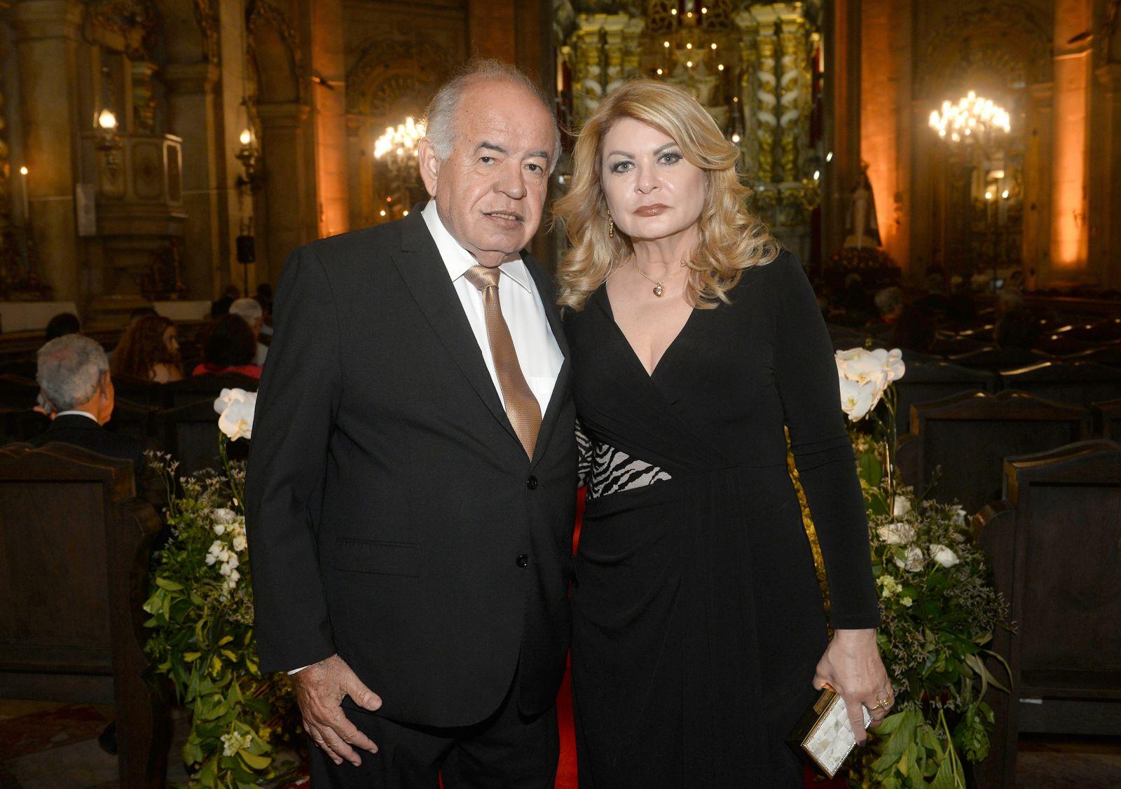 Mary e José Nilton Carvalho Pereira foram destaque no casamento de Laura Assunção e Carlos Henrique Mapa