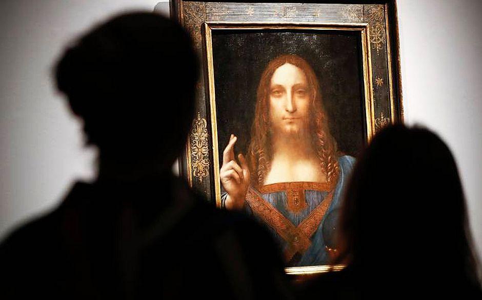 Quadro de Leonardo Da Vinci é vendido por R$ 1,5 bi nos EUA