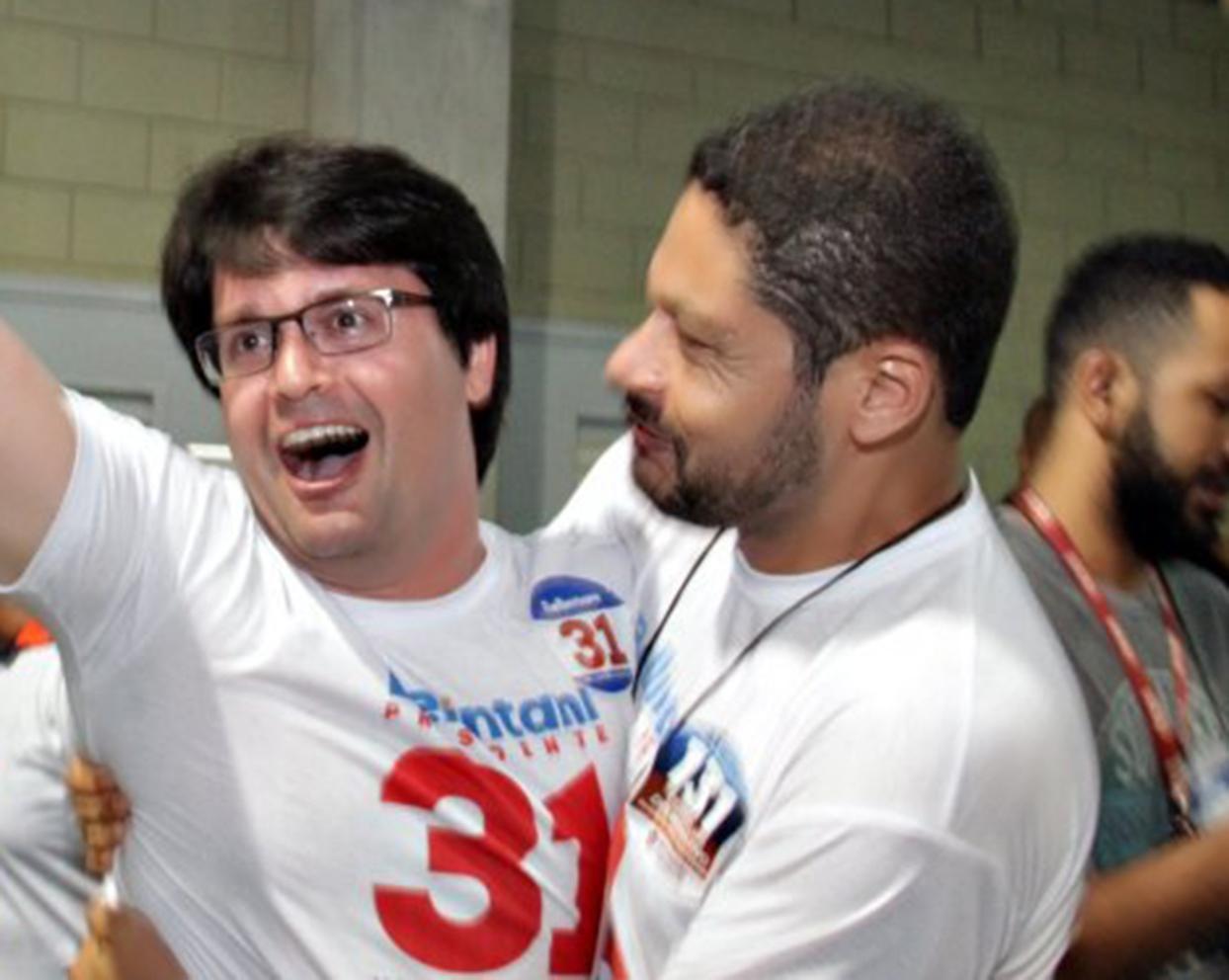 Guilherme Bellintani foi eleito Presidente do Bahia neste sábado (09, na Arena Fonte Nova, em Salvador.