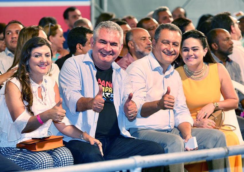 """O Deputado Coronel presidente da ALBA, disse que governo da Bahia está """"revolução na saúde pública""""."""