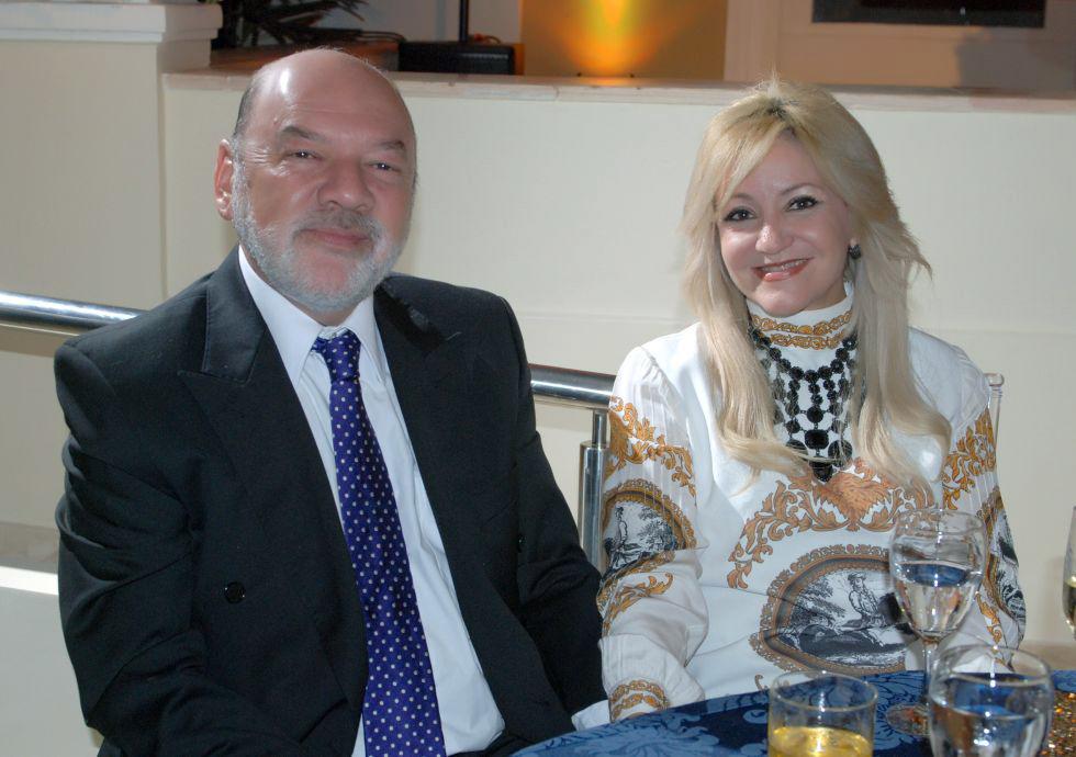 A juíza Socorro Habib é a famosa aniversariante de hoje, na foto ela está com seu esposo, o advogado Jurista Sérgio Habib