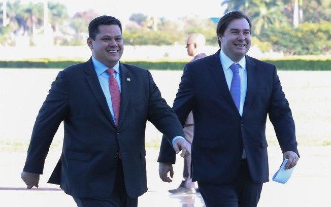 A Nação brasileira precisa ir para cima de Rodrigo Maia, Davi Alcolumbre e do STF. Ver o porque...