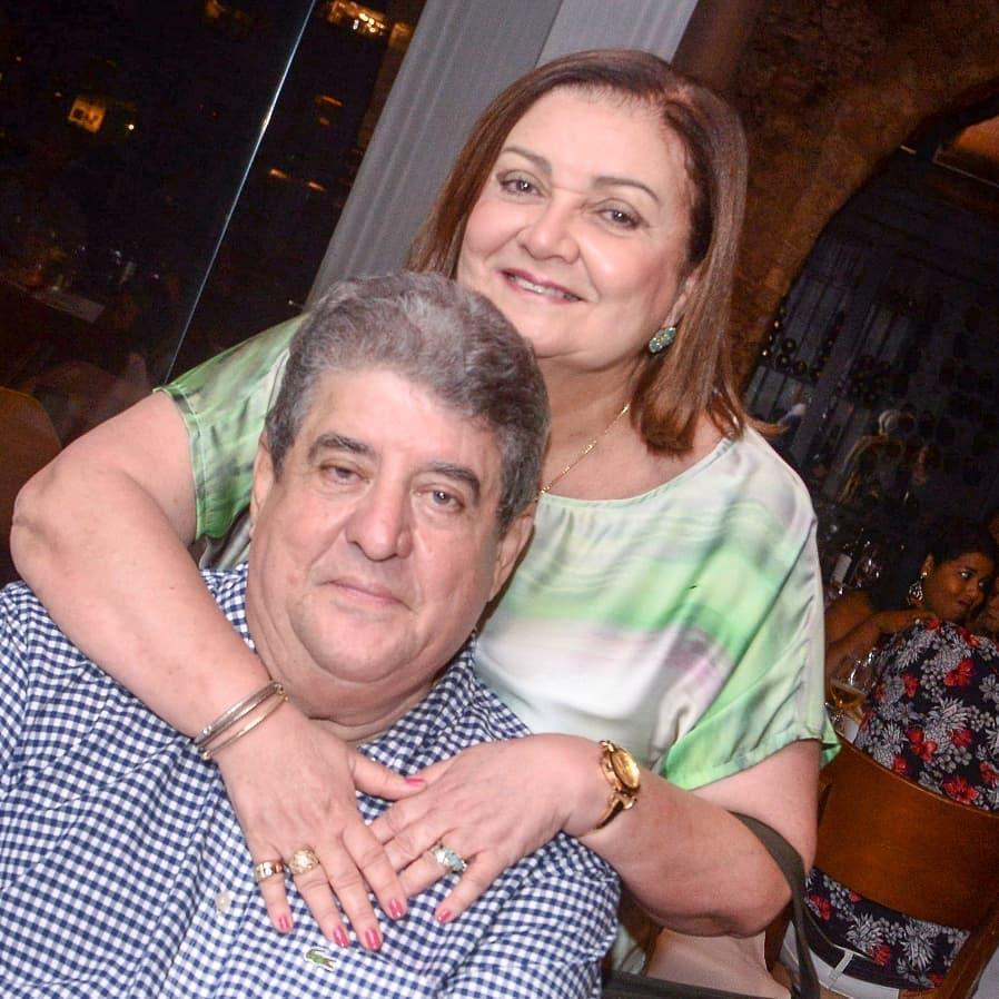Rubem passos o nobre advogado é aniversariante de hoje, na foto ele está com sua esposa Vera Psssos