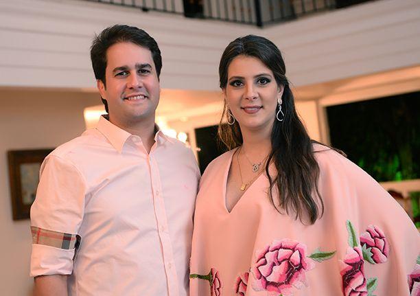 O juiz Diego Ribeiro e Renata, presença very special na Feijoada ao Mar no dia 01/02, no Cerimonial Villa São José