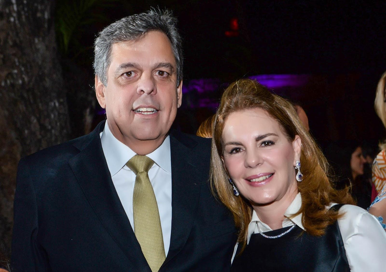 Paulo Gordilho é o nobre aniversariante de hoje, dia 5 de fevereiro, na foto ele está com a esposa Alina Gordilho