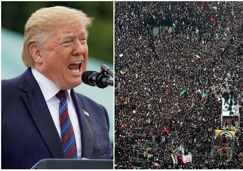 Irã oferece US$ 80 milhões pela cabeça de Trump