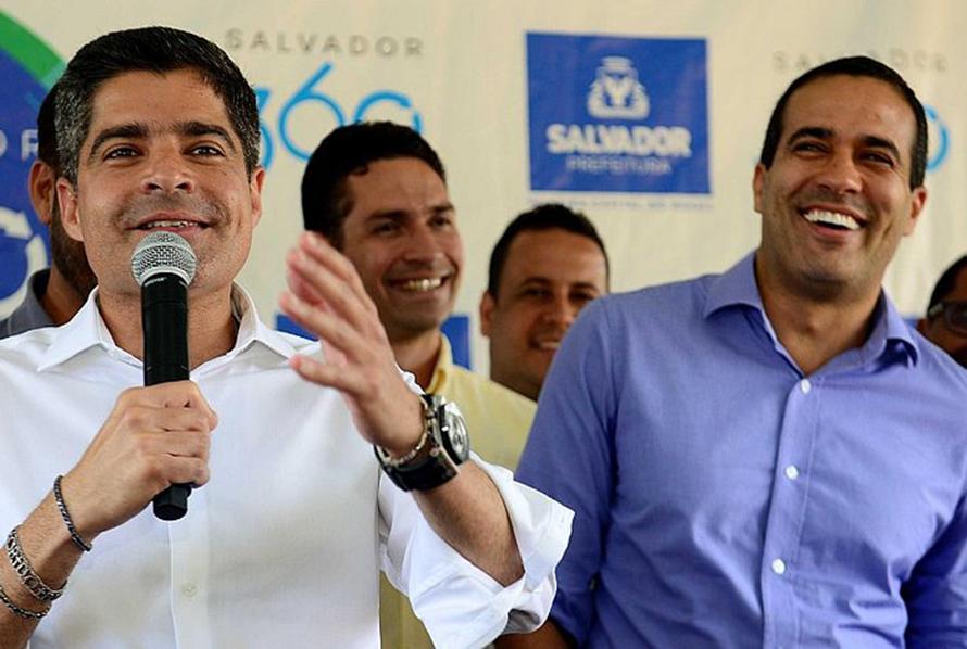 ACM Neto apresentou pré-candidato do Democratas à Prefeitura de Salvador