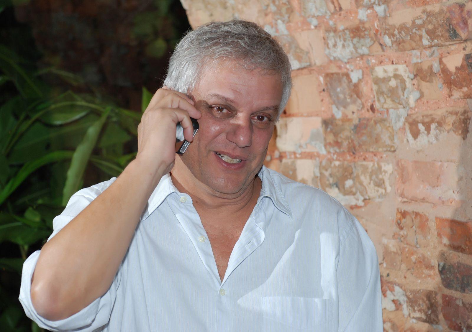 Edinho Engel do restaurante Amado, está em São Paulo participando do Taste of São Paulo