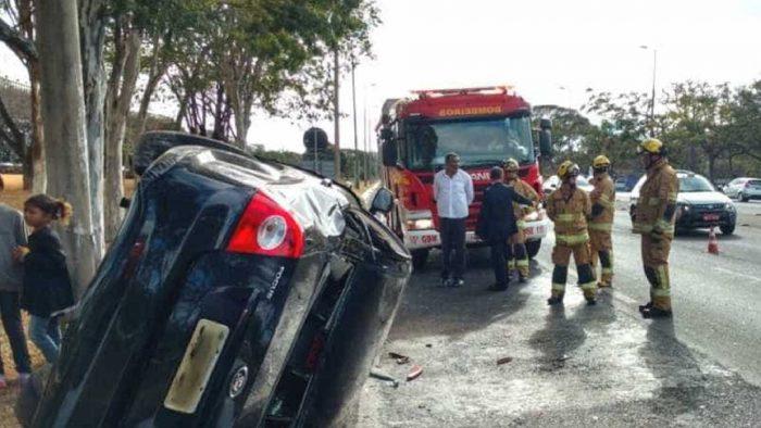 Filho de Temer se envolve em acidente de carro