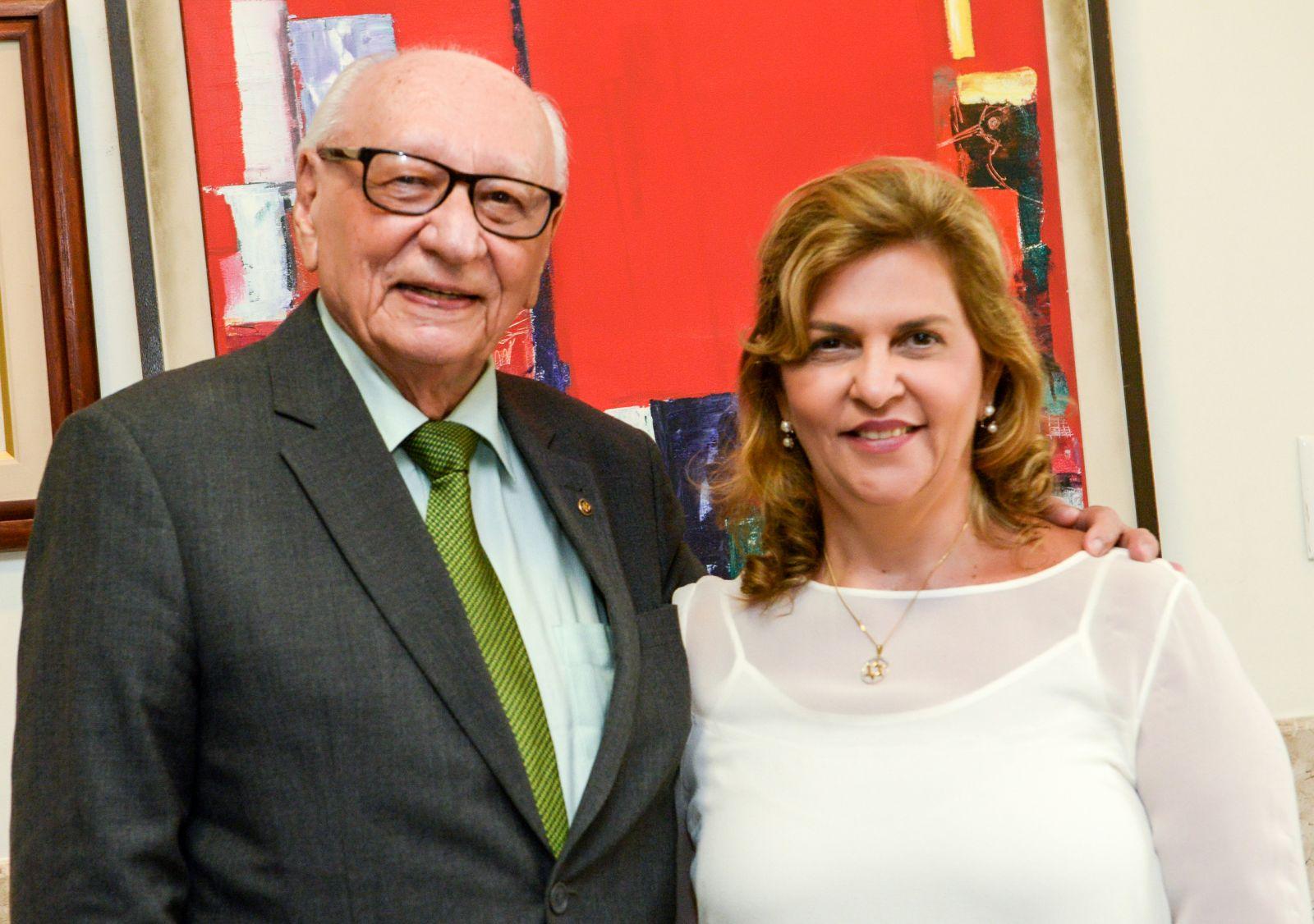 Geraldo Leite e Leila Brito, da FJS, reforçam a causa solidária do Dia do Bem