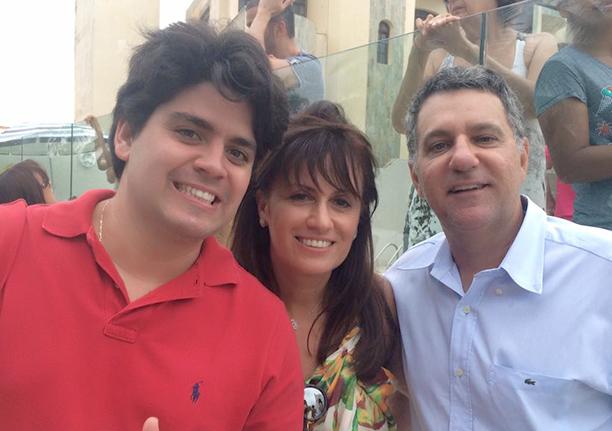 Carlos Henrique Ribeiro Lima foi o aniversariante de ontem dia 07 de agosto