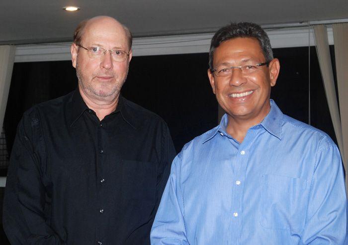 André Blumberg com o Comandante do Planalto o General Racine do Exército Brasileiro fazendo a diferença