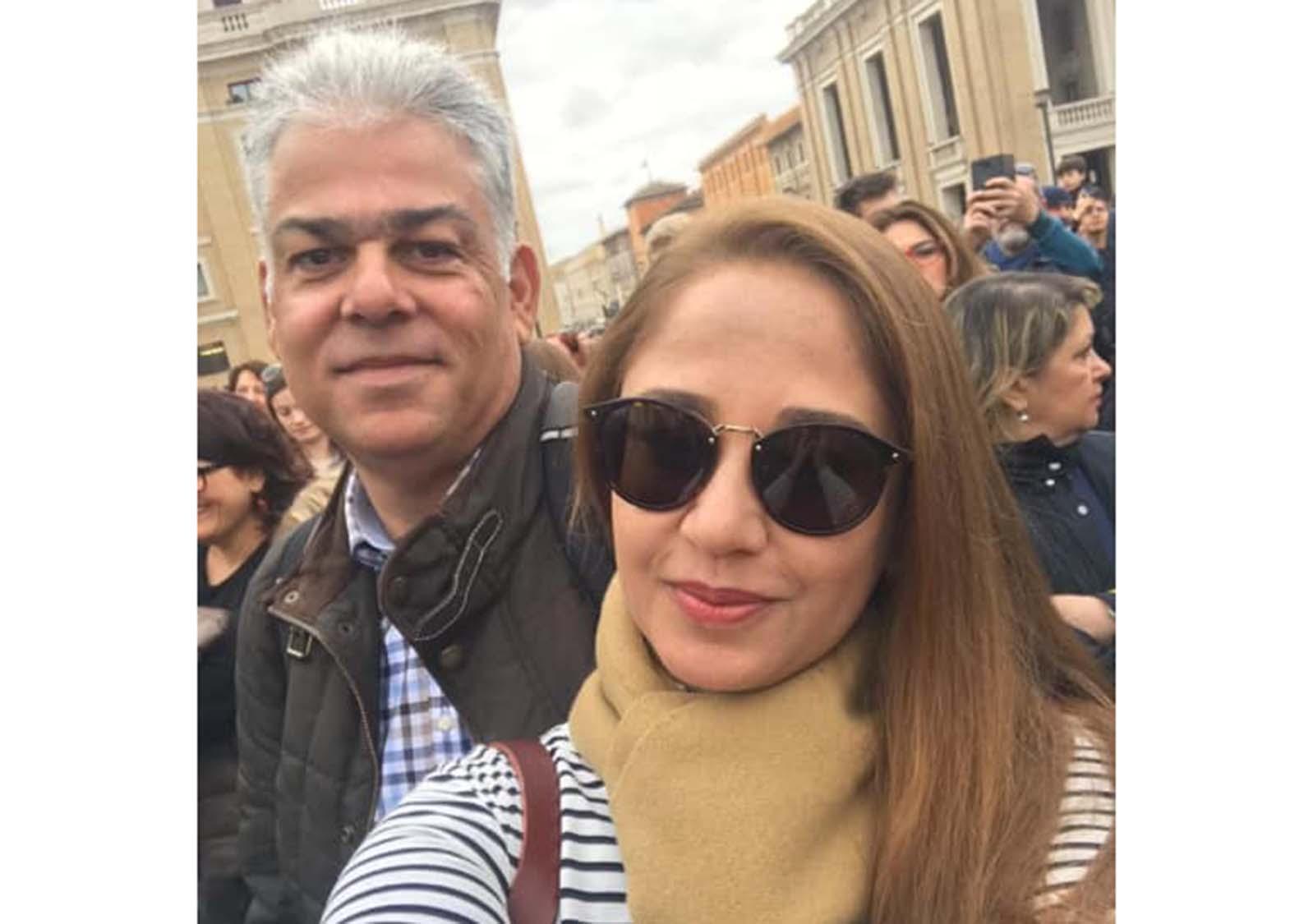 Luiz Eduardo Viana Coelho é o aniversariante de hoje dia 13 na foto ele está com in love Edna Lima