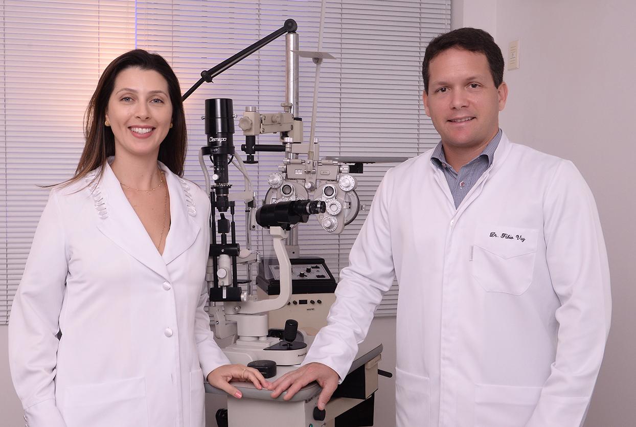 Mirian Minari Vaz e Fábio Vaz o destaque oftalmológico de hoje 16 de outubro. Ver mais...
