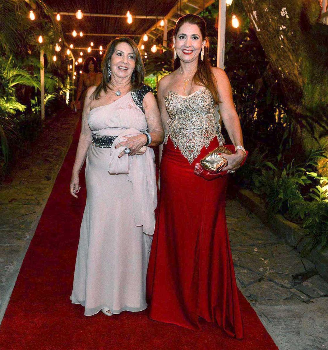 Nietinha Veloso e Cristina Veloso foram destaque nos 70 anos de Milton Martinelli