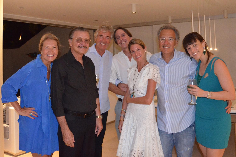 Nizan Guanaes comemorou aniversário ontem em Saint Barth a Ilhas das celeridades na França