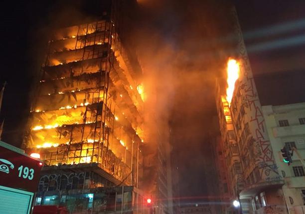 Veja o comentário do editor deste site sobre o incêndio que destruiu prédio federal em São Paulo